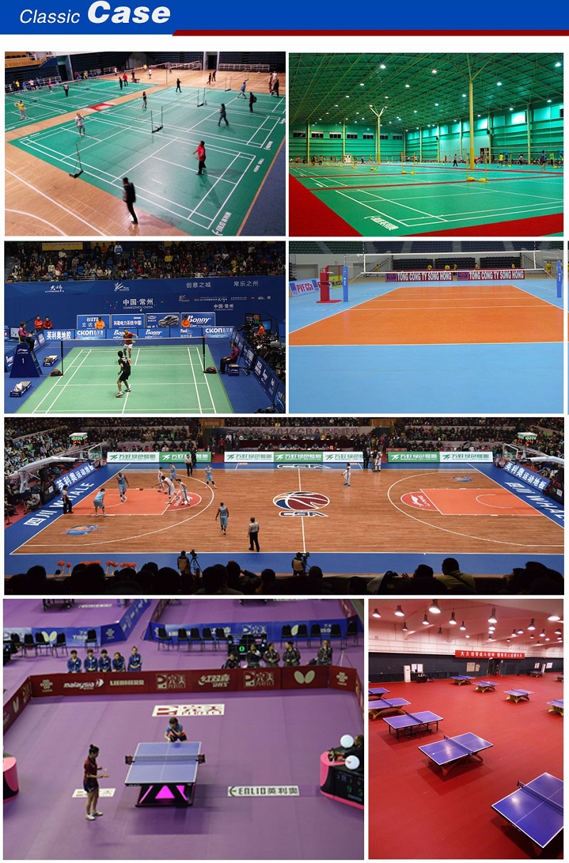Handball PVC Sports Flooring IHF approved