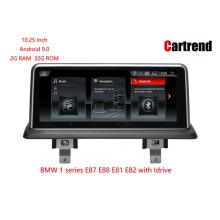 Android 9,0 Multimedia Player Pikeun BMW 1 Series