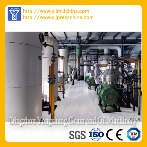 Cooking Oil Refining Plant