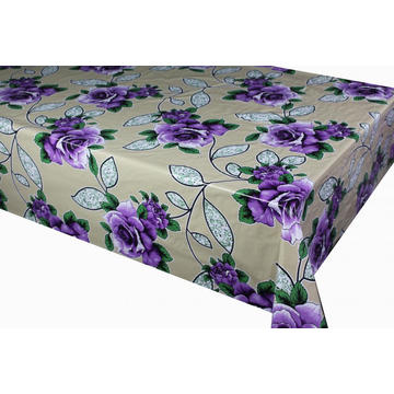 Vinyl Outdoor Tablecloth with Non woven backing