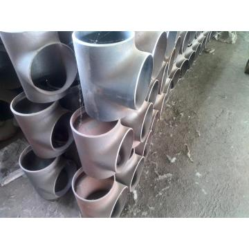10K Carbon Steel Seamless Sand Blasting Reducing Tee