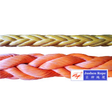 China Manufacturer for for Double Braided Rope 8-Strand UHMWPE Mooring Rope export to Brunei Darussalam Importers