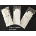 White Costume Cotton Gloves for Children