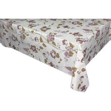 Elegant Tablecloth Inch Round with Non woven backing