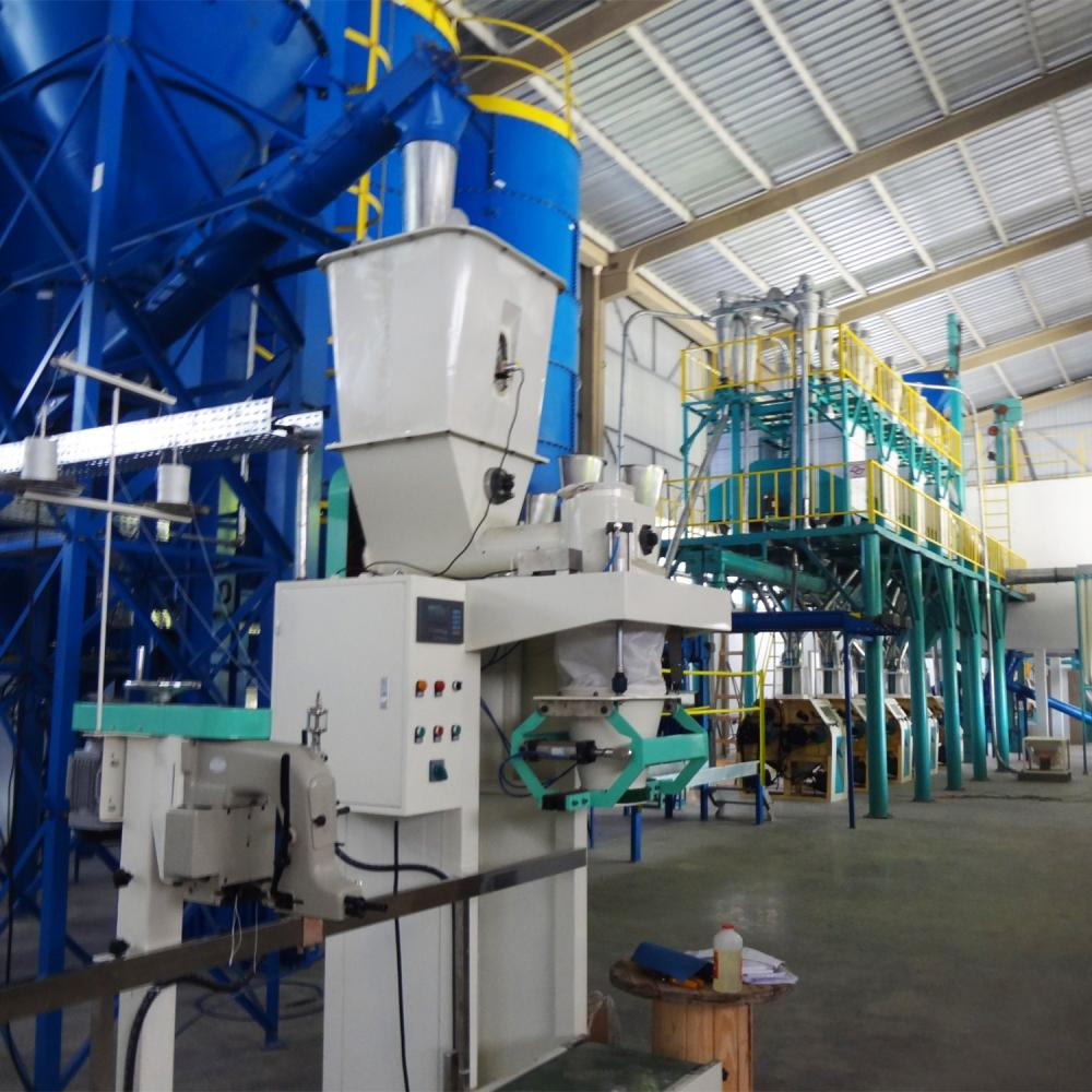 50mt Wheat Flour Mill Machinery
