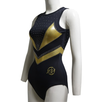 Embroidery Logo Gymnastics Competition Leotards