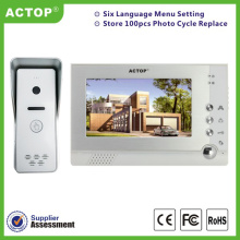7 inch video doorbell intercom systems