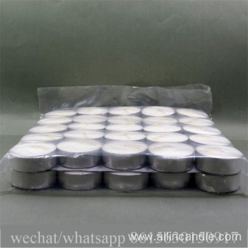 14g handmade paraffin wax tea light candle