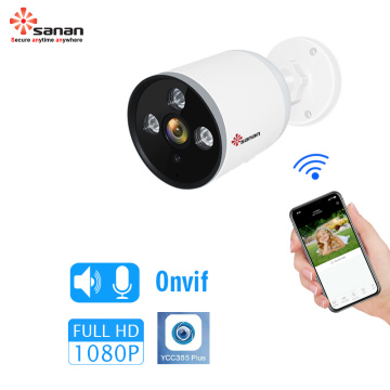 wireless wired 1080p security camera video