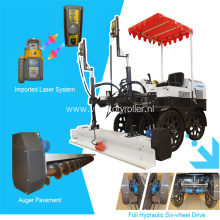 Trimble Laser Screed Concrete Floor Leveling Machine