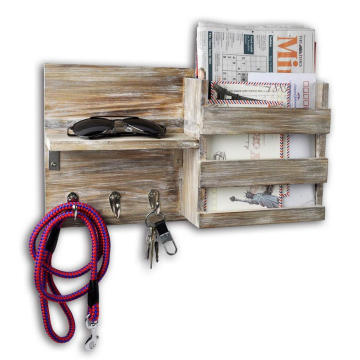 Hanging keys rack wall mounted display rack