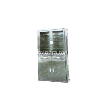Stainless steel embedded equipment cabinet