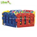 Indoor plastic ball pool for children