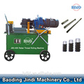 Easy-to-use rebar thread rolling machine