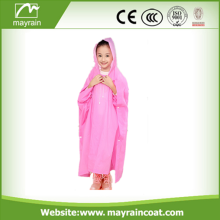 Waterproof PE Material Disposable Rain Poncho