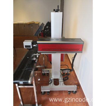 Plastic Bags Industrial CO2 Laser Printer Marking Machine