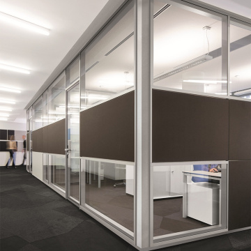 aluminium glass partition office