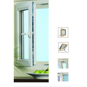 Aluminum Frame Fixed Screen Window