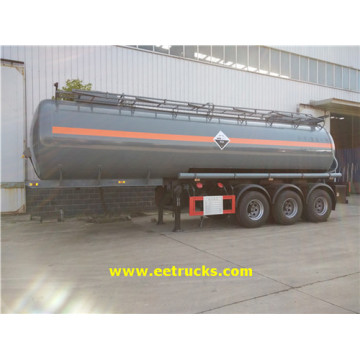 3 Axle 8000 Gallon Sodium Hydroxide Trailers