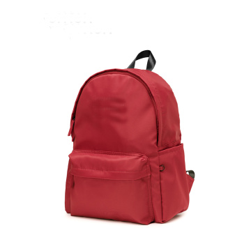 Customized portable backside backpack leisure bag