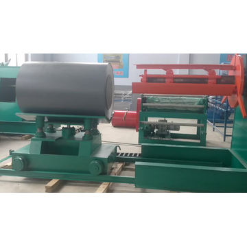 Factory selling steel sheet 5 ton hydraulic used decoiler