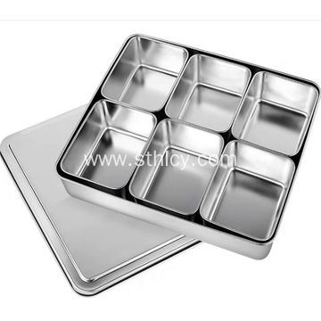 304 High Quality Stainless Steel Japanese Seasoning Box