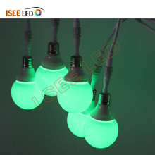80MM Christmas Decoration Holiday LED RGB Bulb
