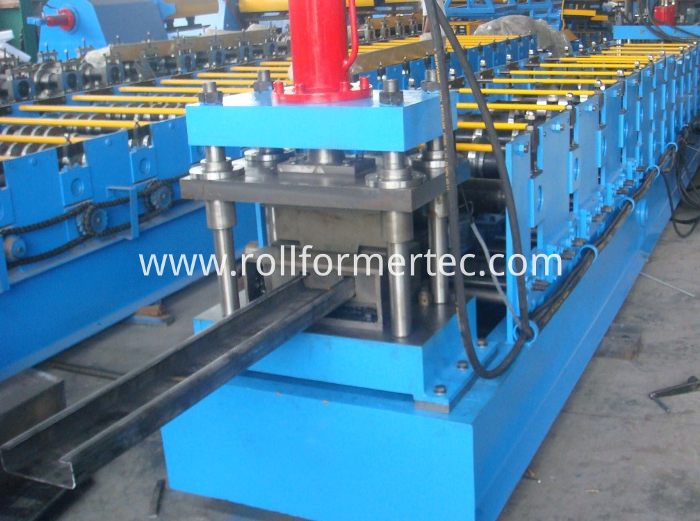 C purlin roll forming machine (4)