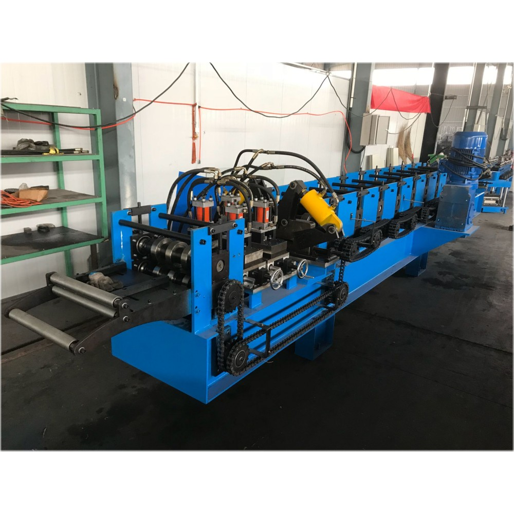Iron Roof Gutter Roll Formimg Machine