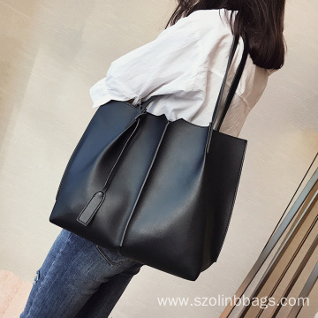 Lightweight Faux Leather Handbags Sets for Women