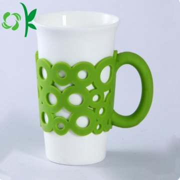Silicone Personalized Reusable Coffee Cup Sleeves