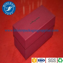 Red Luxury Folding Paper Box Packaging