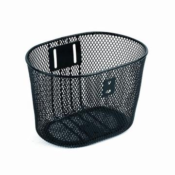 Metal Wire Bicycle Basket with All Fittings