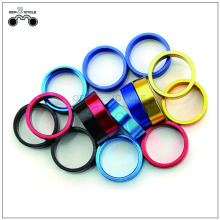 Adonized color 10mm aluminum spacer for fixie