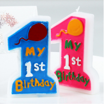 Birthday Number Candle for Birthday Party Use