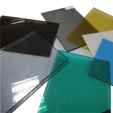 Panel Bayer Roofing Transparent Solid Polycarbonate Sheet