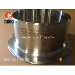 Popular Design for Monel Pipe Fitting Lap Joint Stub End RF ASTM B366 UNS N04400 supply to Tanzania Exporter