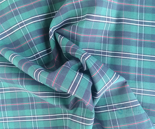 Plaid Yarn Dyed Cotton Textile