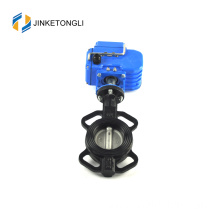 2017 sale pneumatic actuator rubber line seated butterfly vvalve positioner pn40