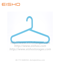 High Quality for Plastic Garment Hanger EISHO Kids Rrecycling Blue Plastic Hangers export to United States Factories