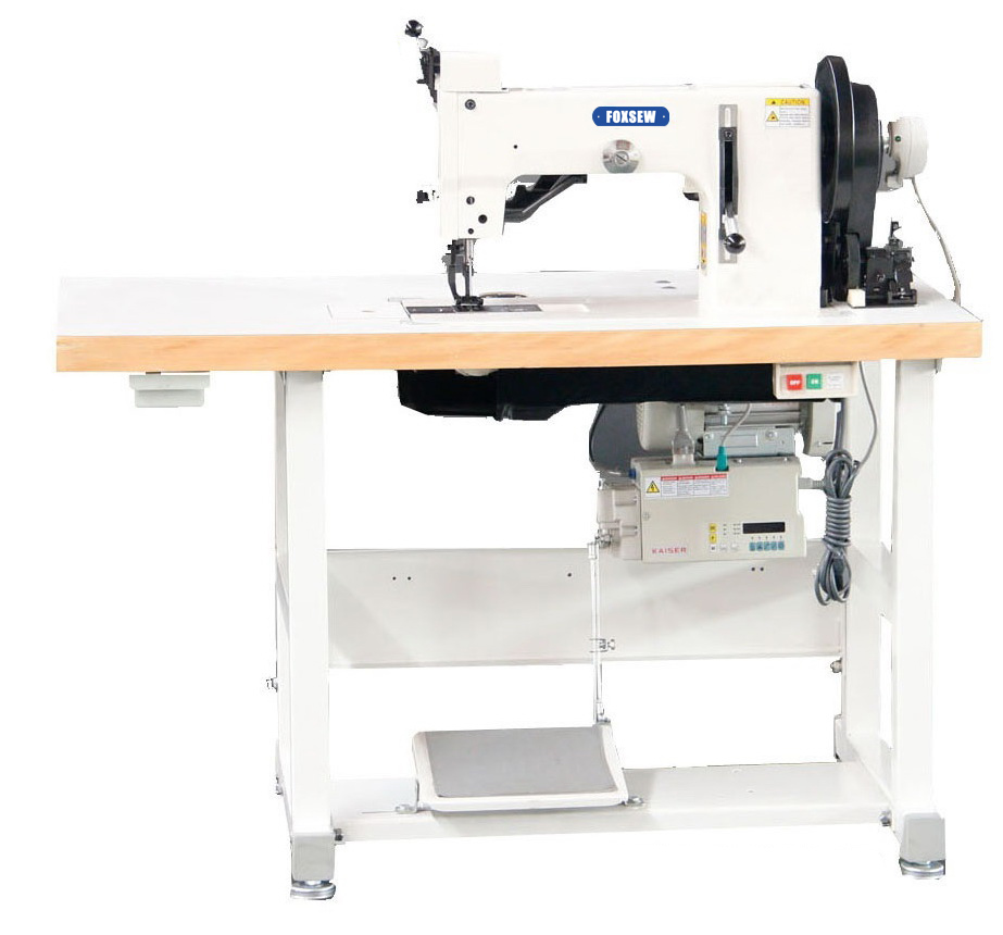 KD-204-104A Top and Bottom Feed Two Points Thick Thread ZigZag Sewing Machine