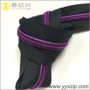 Fashion long chain nylon NO.5 zipper