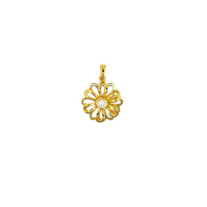 Renewable Design for K Gold Pendant,Fox Charm K Gold Pendant,Yellow Gold Pendant Manufacturer in China 2018 18K Rotating pendant export to Gabon Supplier