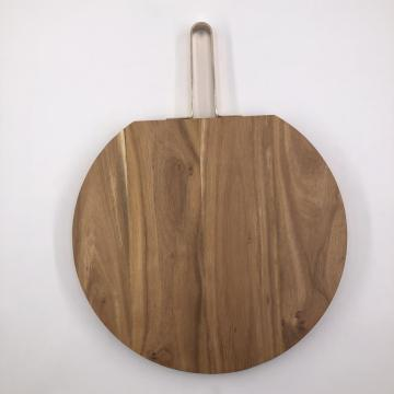 Solid wood chopping board large