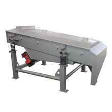 large capacity wood flour linear vibrating screen