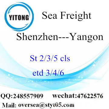 Shenzhen Port LCL Consolidation To Yangon