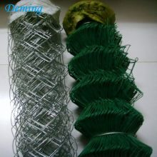 China OEM for Chain Link Wire Mesh Fence 6 Foot Galvanized Screen Chain Link Fence Used export to Grenada Manufacturers