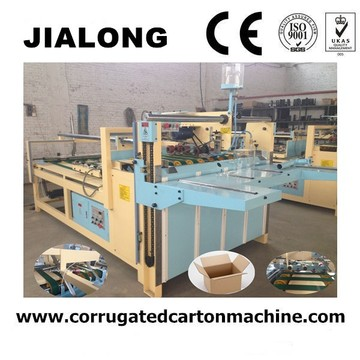 Semi Automatic Folder Glue Machine