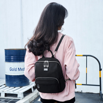 Cool Black Backpack with Water Bottle Holder