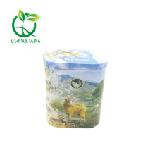 Oval tin containers for sale
